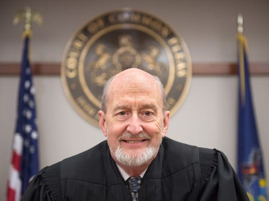 Common Pleas Judge Chris Menges, 65, is one of the judges in York County who could immediately be affected by the ballot question on whether to raise the mandatory retirement age for judges from 70 to 75. If it passes, he'd be able to serve his full 10-year term on the York County Court of Common Pleas.
