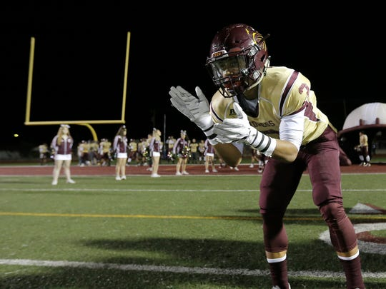 Andress prepares to face Chapin Friday night at Andress High School.