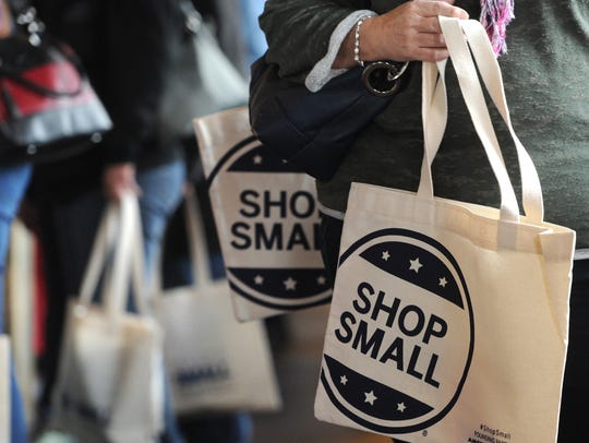 Small Business Saturday encourages shoppers to shop local the Saturday after Thanksgiving.