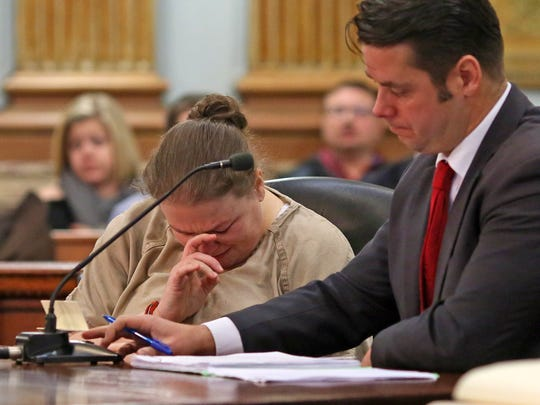 Amy Wilson was sentenced to seven years and three months