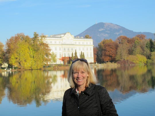 Detroit Free Press reporter Ellen Creager in Salzburg, Austria on a story in 2011. She was travel writer from 2003 to 2016.