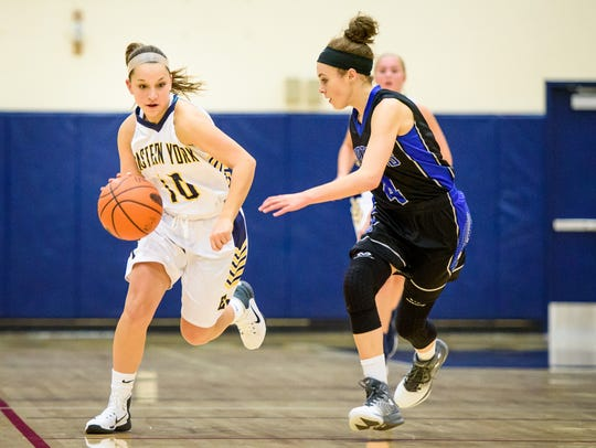 Katie Lehman (10) and Eastern York will look to defend