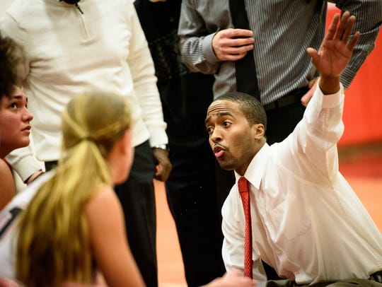 Dover coach Kevin Glover has led the Dover girls to