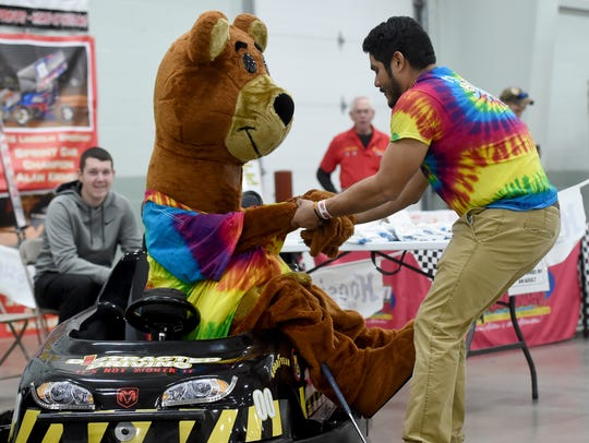 Hickory the Bear, with Hickory Falls Entertainment