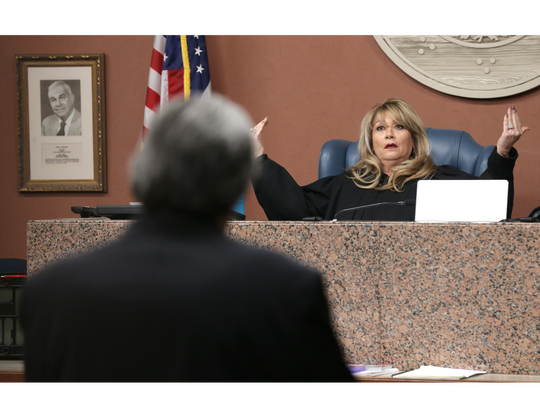 Judge Bonnie Rangel becomes frustrated with defense