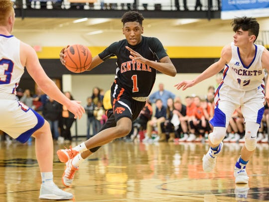 Central York's Courtney Batts did a little bit of everything