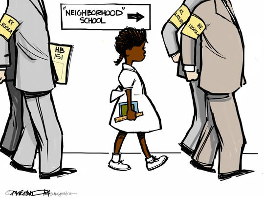 "HB 151 call it the ""Segregated Schools"" bill"