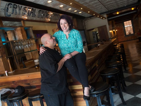 Jessica and Robert Ayala are the owners of Revival Social Club on the first block of North George in York city.