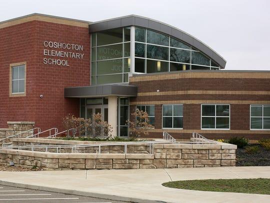 Coshocton Elementary School on Cambridge Road.