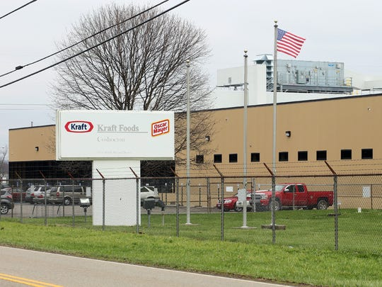 Kraft Foods on South Second Street in Coshocton.