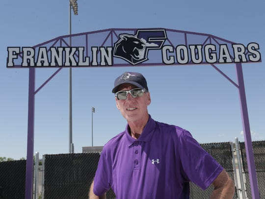 Franklin soccer coach Scott Gilmore is the All City