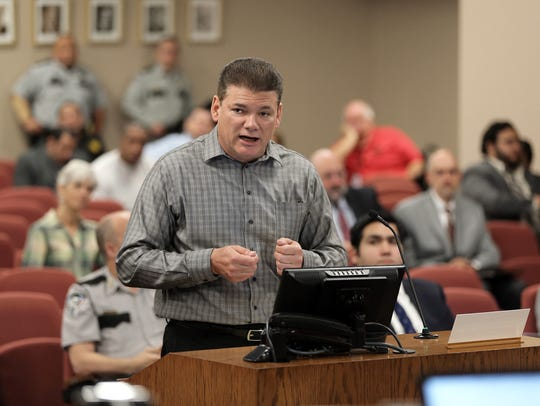 Sheriff Richard Wiles responds to County Commissioner