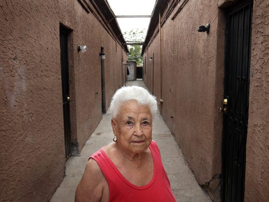 Antonia Morales is one of the remaining residents in