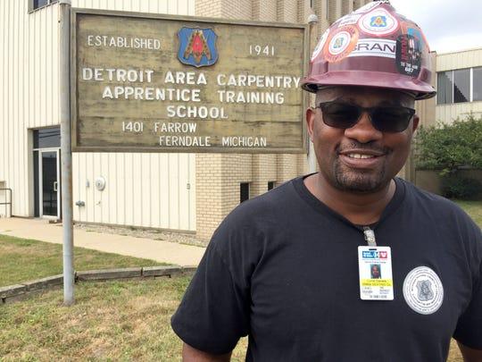 Curtis Daniels, 53, of Oak Park poses Thursday, Aug.