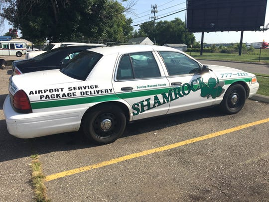 The Shamrock Cab Co. is based in Roseville and services