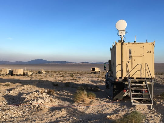 The National Training Center is located in the Mojave Desert between Los Angeles and Las Vegas.