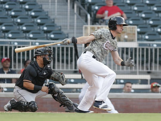 Outfielder Travis Jankowski will start the 2018 season with Triple-A El Paso.