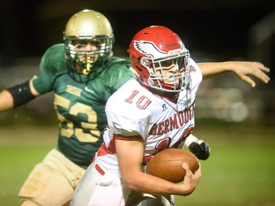 Quarterback Chase Dull will lead the Bermudian Springs'