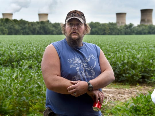 JJ Moore, of Newville, Cumberland County, is a third-generation