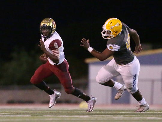 El Dorado defeated Eastwood 34-27 Friday night at Eastwood High School.