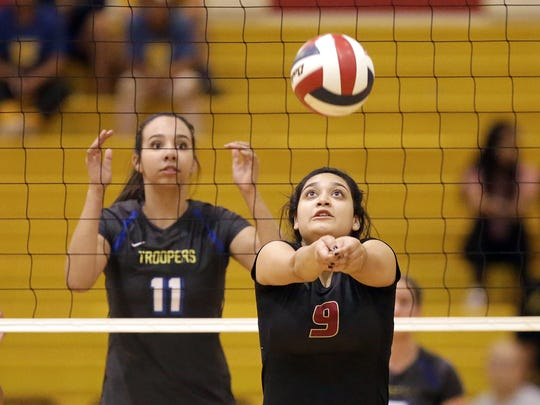Eastwood defeated El Dorado in five sets Tuesday night