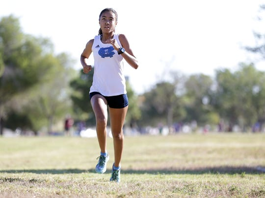 Chapin's Skyler Goodman leads start to finish in the