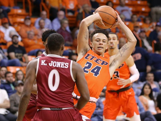 NMSU defeated UTEP Thursday 80-60 at the Don Haskins Center.