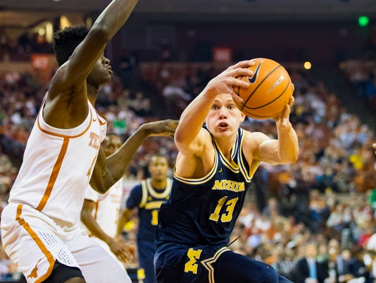 NCAA Basketball: Michigan at Texas