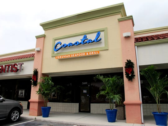 Coastal Peruvian Seafood & Grill closed in 2017 in Bed Bath & Beyond Plaza on the northwest corner of Airport-Pulling and Pine Ridge roads.