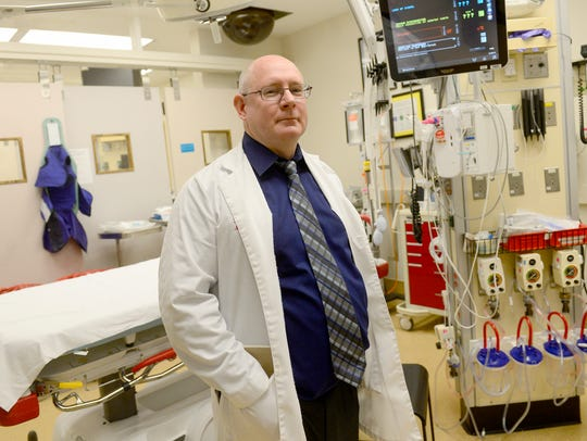 """""""I think a helmet is critical, just like seatbelts and airbags are critical,"""" said Dr. Daniel Carney, the medical director of trauma surgery for WellSpan York Hospital."""
