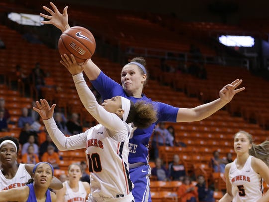 UTEP fell 54-45 to Middle Tennessee on Saturday at the Don Haskins Center.