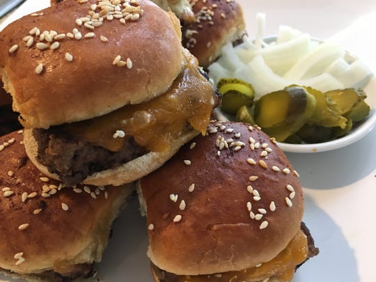 Oven Baked Cheeseburgers are perfect to serve at Super Bowl.