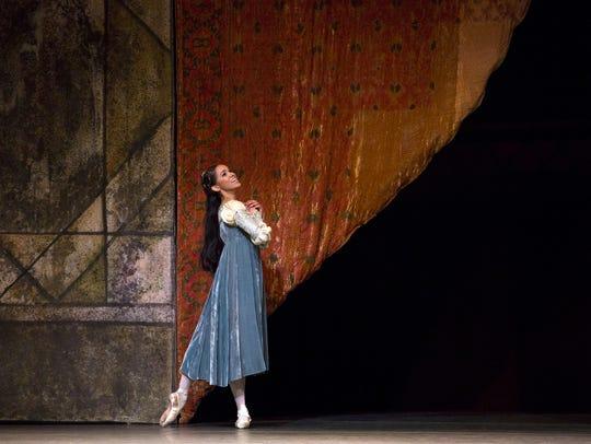 American Ballet Theatre principal dancer Misty Copeland