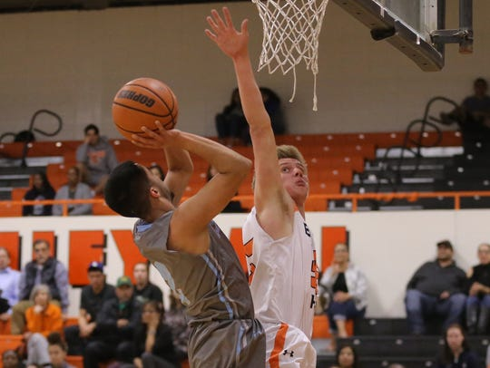 El Paso High hosted Chapin in a playoff game Tuesday