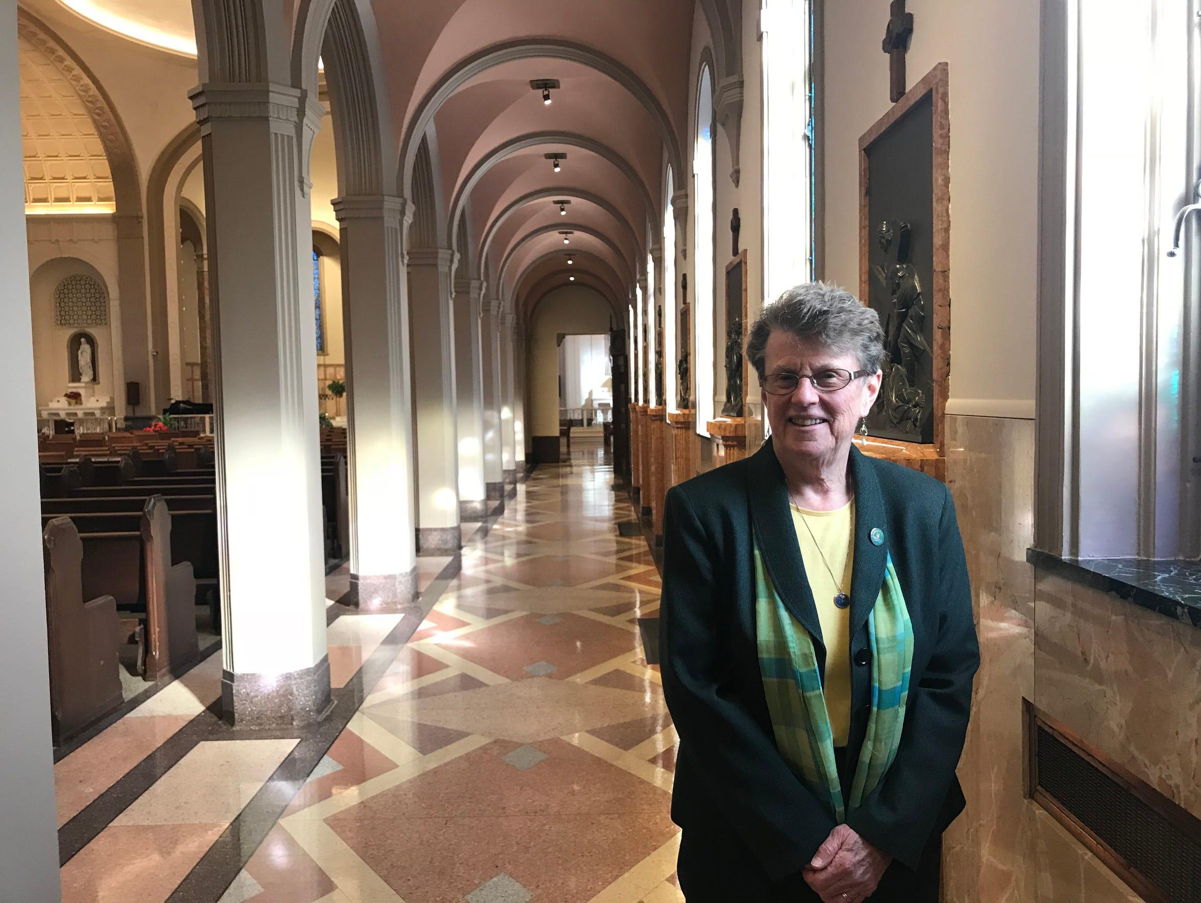 Sr. Mary Jane Herb, president of the religious order