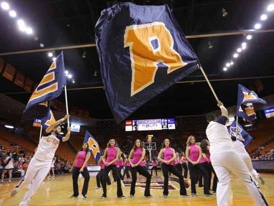 UTEP led the majority of their game Friday against UTSA until UTSA went on a shooting streak to win 58-55.