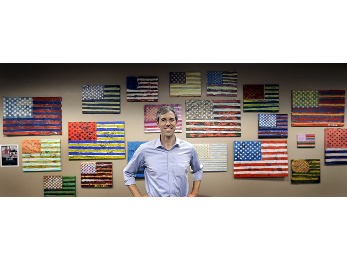 U.S. Rep. Beto O'Rourke poses for a photo at the El