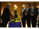 Rabbi Emeritus Stephen Leon offers a prayer during