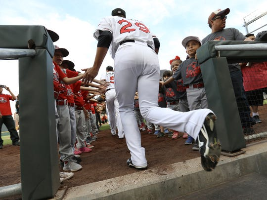 The El Paso Chihuahuas hosted Reno Tuesday night at Southwest University Park.
