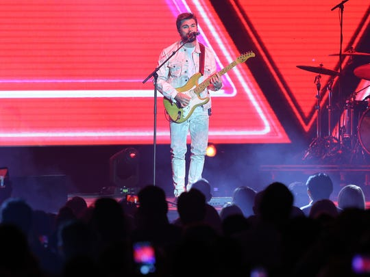 Multiple Grammy winner Juanes performs Wednesday night at the El Paso County Coliseum.