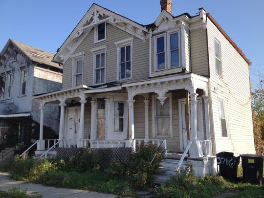 The house at 2712 Cass Avenue in Detroit on Oct. 24, 2014.
