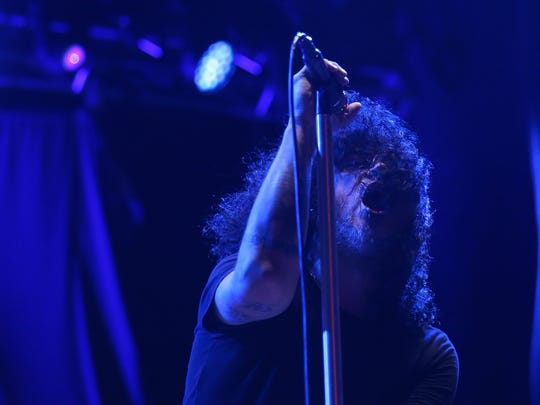 At The Drive In performs Saturday night at the Annual Neon Desert Music Festival.