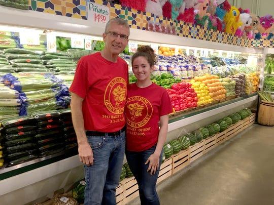 Ken Koehler and his daughter Alexis Koehler in the