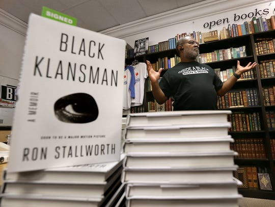 Ron Stallworth introduces himself and his book Black