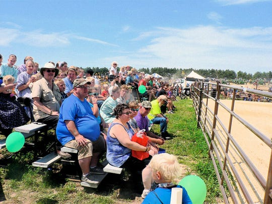 The horse events drew big crowds.