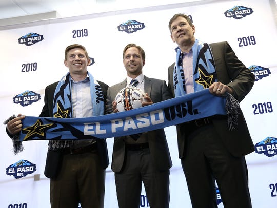El Paso's USL team introduced the head coach during