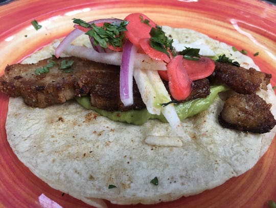 Pork Belly Taco from El Camino in Keego Harbor.