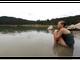 Faith Watkins, 16, enjoys the view at Grindstone Lake