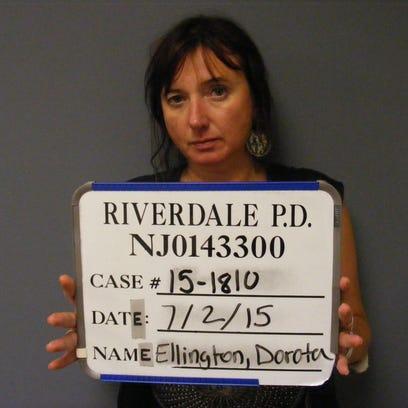 Dorota Ellington, 48, of Sparta, was arrested by Riverdale