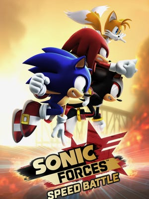 "A scene from ""Sonic Forces Speed Battle"""